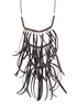 Zad Jewelry 'Ayo' Layered Fringe Necklace