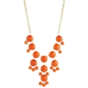 Zad Jewelry Zia Bubble Statement Necklace