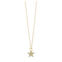 Zad Jewelry Tiny Star Charm Pendant Necklace