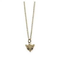 Zad Jewelry Paw Passion Dog Paw Mini Pendant Necklace, Gold