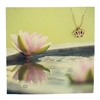Zad Jewelry Lotus Flower Mini Pendant Necklace