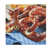 Zad NYC Pretzel Pendant Necklace