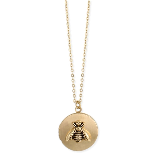 All The Buzz Bee Locket Pendant Necklace