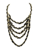 Amrita Singh Elsa 5 Tier Chain Necklace