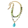 Amrita Singh Noho Beaded 3 Layer Necklace