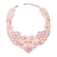 Amrita Singh Firni Lace Bib Necklace