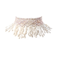 Amrita Singh Pipa Lace Choker Necklace
