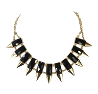 Amrita Singh Wisteria Spike Bib Necklace