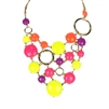 Amrita Singh Bubble Gum Statement Bib Necklace
