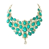Amrita Singh Crystal South Fork Statement Bib Necklace