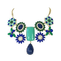 Amrita Singh Verve Statement Bib Necklace