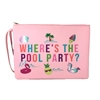 Where's The Pool Party Neoprene Wet Dry Swim Wristlet