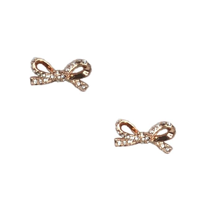 ec3c4a444ffd Kate Spade  Skinny Mini  Pave Bow Stud Earrings