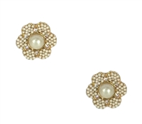 Kate Spade Park Floral Stud Earrings