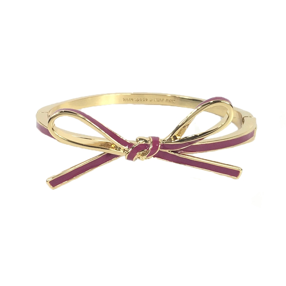 Kate Spade Skinny Mini Bow Bangle Bracelet