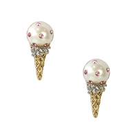 Kate Spade Carnival Nights Ice Cream Cone Studs Earrings