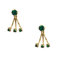 Kate Spade Dainty Sparklers Crystal Ear Jackets