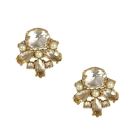 Kate Spade Chantilly Crystal Gem Stud Earrings