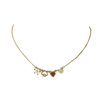 Kate Spade Mini Things Row Tiny Charm Necklace