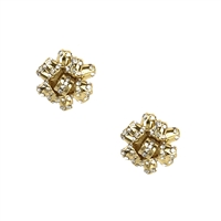 Kate Spade Pave Bourgeois Bow Stud Earrings