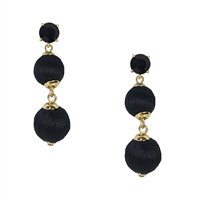 Kate Spade Linear Graduated Ball Drop Earrings