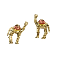 Kate Spade Spice Things Up Camel Stud Earrings