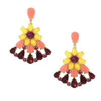 Kate Spade Brilliant Bouquet Drop Earrings
