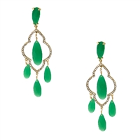 Kate Spade Lantern Gems Chandelier Drop Earrings