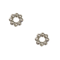 Kate Spade Full Circle Crystal Stud Earrings