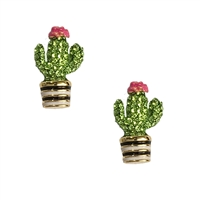 Kate Spade Pave Cacti Cactus Studs Earrings
