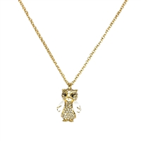 Kate Spade Star Bright Owl Pendant Necklace