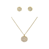 Kate Spade All That Glitters Pave Pendant & Earrings Boxed Set