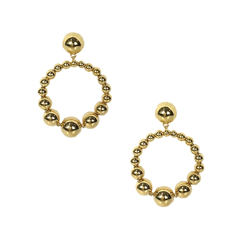 Kate Spade Light Up The Room Hoop Earrings