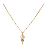 Kate Spade Carnival Nights Ice Cream Cone Pendant Necklace