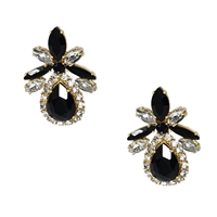 Kate Spade Glitzville Crystal Statement Stud Earrings