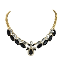 Kate Spade Glitzville Crystal Statement Necklace