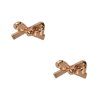 Kate Spade Skinny Mini Bow Stud Earrings
