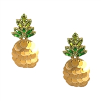 Kate Spade By The Pool Pineapple Statement Drop Earrings