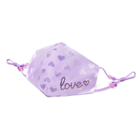 OMG! Love Hearts Reusable Face Mask
