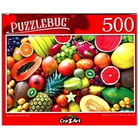 PuzzleBug Beautiful Tropical Fruits 500 Pieces Jigsaw Puzzle