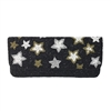 From St Xavier Starry Night Celestial Stars Beaded Clutch