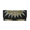From St Xavier Linda Starburst Beaded Clutch
