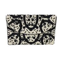 From St Xavier Elma Beaded Evening Clutch