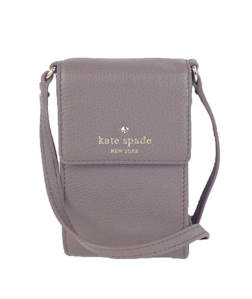brand new f6196 eca0f Kate Spade New York Cobble Hill Brandice Cell Phone Crossbody, French Grey