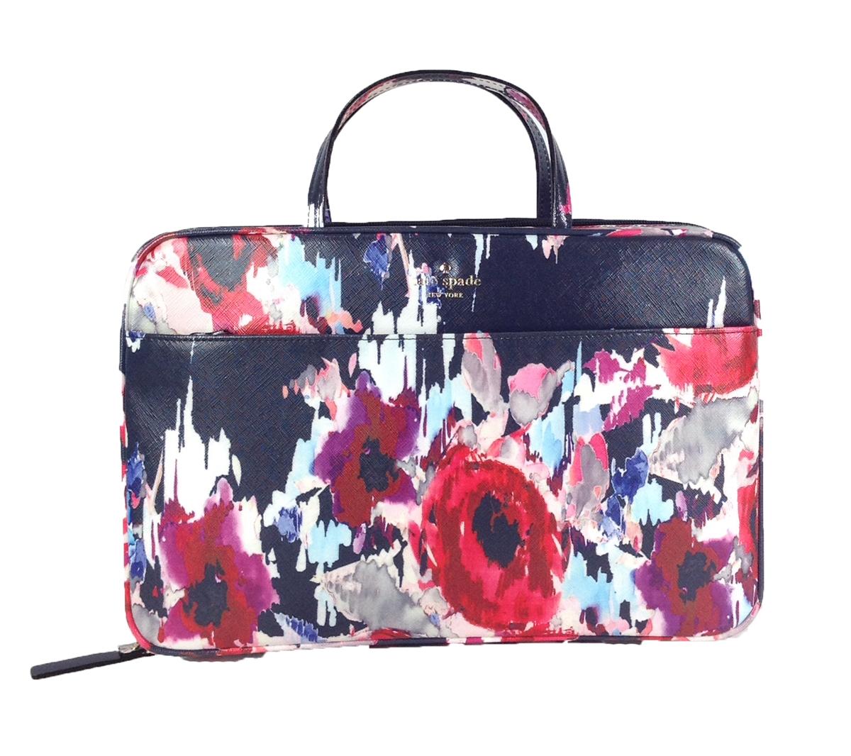 size 40 c7087 60f16 Kate Spade Cedar Street Large Manuela Travel Cosmetic Case, Hazy Floral