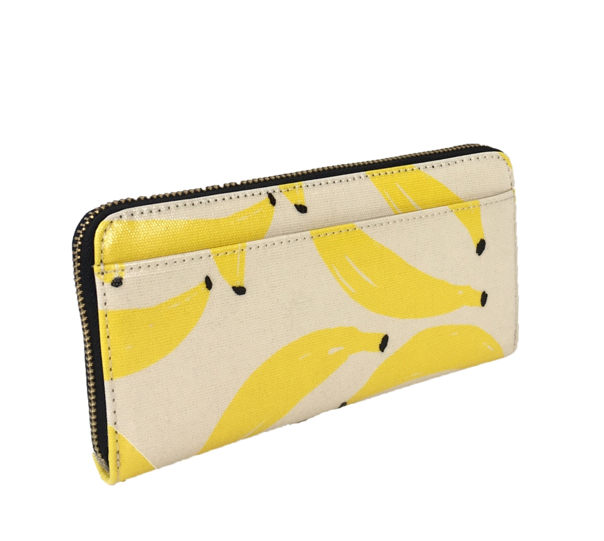 9493bd88 Kate Spade 'That's Bananas' Lacey Continental Zip Wallet, Yellow Multi