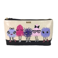 Kate Spade Monster Party Shiloh Clutch Cosmetic