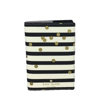 Kate Spade Confetti Dot Travel Passport Holder,