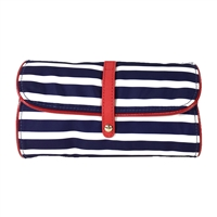 Kate Spade Classic Nylon Jewelry Roll Travel Cosmetic Case