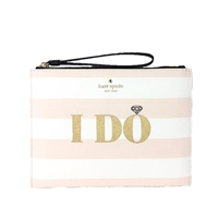 Kate Spade Wedding Belles I Do I Did! Bella Wristlet